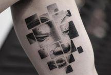 Arc kocka tatto