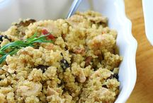 Food - Quinoa / by Heather Gallagher