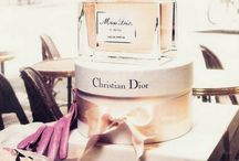 parfume and bottles