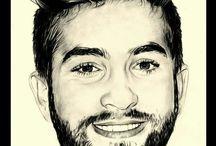 portrait star dessin / voici des portraits de stars réalisés au crayon. www samos17.fr #portraitiste #crayon #stars #dessins je dessine d'aprés vos photos sur commande