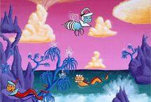 Kenny Scharf (케니 샤프)