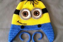 gorros crochet niños