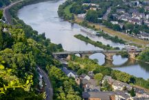 Germany / The rolling vineyards of the Mosel Valley, the picturesque peaks of the Bavarian Alps, and the lost-in-time villages of the Romantic Road await you on luxury German bike tours with Austin Adventures. Hike to the fantastic Berg Eltz Castle on our Mosel Valley tour. Meander the bustling streets of Rothenburg or Koblenz when you take a break from pedaling on our German bike tours.
