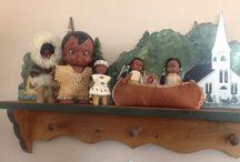 Doll houses and dolls / Doll houses and dolls