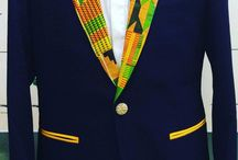 veste motif wax