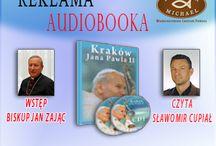 """Audiobook """"Kraków Jana Pawła II"""" / Wyprawa po Krakowie - przewodnik ulubione miejsca Papieża Jana Pawła !!"""