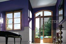 Fenêtres Diruy / Par la fenêtre, vous regardez les nuages, vous guettez le facteur, vous offrez votre vision à l'extérieur...