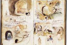 Moleskine - sketchbook / Traces de recherches / Plus sur www.overso.me