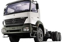 T MERCEDES BENZ TRUCKS (AT (AXOR)) / A very powerful truck,with some very powerful diferent hp engines,makes this model,an excelent choice for hard work,like a dumper truck,off road work,Heavy Haulage duty,logging work,as also, for Road Transports and long travel journeys.
