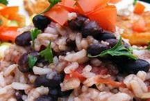 Beans, RIce and Veggies / by Cristina Chaves