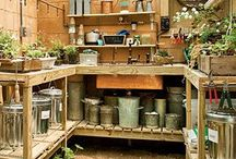 Garden shed / Greenhouse