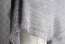 Knit Shawls: glorious garter stitch