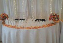 Wedding decor - main table