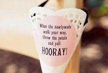 Wedding Crafts / Things To Make :)