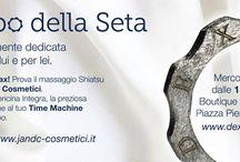 Relaxing with Jandc  Cosmetici srl - Serata di Relax con Jandc Cosmetici srl / The silk time - Il tempo della seta