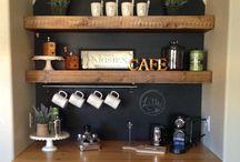 Küche und Kaffeebar