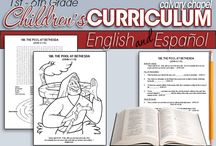 Bible prints for Kids / Bible printouts for the kids / by Heliza Payne