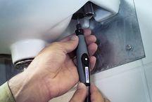 Μαστορεματα με Dremel / Τα πολυεργαλεια Dremel θεωρούνται η ιδανική λύση για μαστορέματα . Είναι αγαπημένα εργαλεία για επαγγελματίες και ερασιτέχνες.