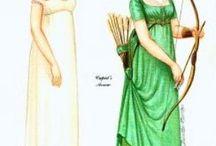 {Jane Austen} Paper Dolls