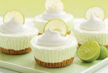 Lime Cheesecakes (mini)