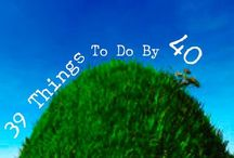 Bucket List: Things To Do By 40