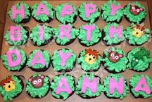 Monkey cakes, cupcakes and cookies / This board is for monkey cakes, cupcakes and cookies