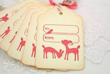 Gift Tags / by Dana Ingram