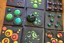 Šperky a dekorace z polymerů / Výroba šperků a dekorací z polymerových hmot - náušnice, náhrdelníky, polymerová miminka...