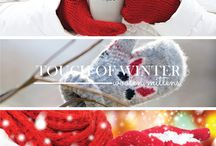 Wintertime! / Winter is a beautiful time of year. Take a look at what inspires us about winter. Our touch of winter series shares our tactile faves of the season.
