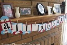 Train-themed Toddler Birthday / How to throw a train-themed kids' birthday party.
