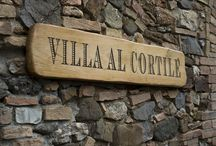Villa al Cortile / wine