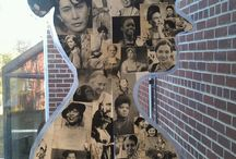 Crafty Womens History Month / March is National Craft Month and National Womens' History Month so we're celebrating with a Crafty Women's History Pinterest Party on Friday, March 25th! Make projects inspired by this board!
