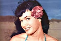 Girls of Old Glam / From pin up models to sliver screen sirens. Women that are truly feminine.