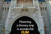 disney planning / by Paige Hall