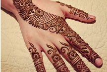 single line henna