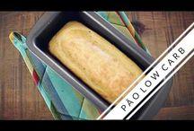 Massa de pão low carb