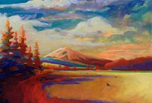 People: Mt Shasta Artists / Artists who call the Mount Shasta area their home...