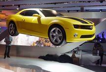 Chevrolet Camaro / Radio controlled ultra light flying 1:1 model of a Chevrolet Camarro.