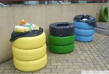 caixotes do lixo