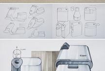 dessin design / dessins diverses pour le design de produit