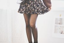 Skirt and jumper