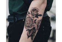 Tattoo fiori
