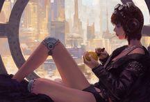 Cyberpunk/Sci-Fi