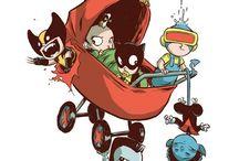 baby superheros