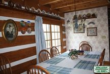 Dining Rooms / Appalachian Log & Timber Homes Client Dining Room Gallery