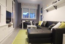 Proyecto Home Staging || Apartamento Óliver || / Proyecto de Home Staging en un piso para alquiler realizado por Blanco y de madera.
