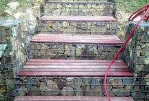 escaleras y bancales