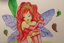 Mina egna akvareller / Akvarell, vattenfärg, watercolors