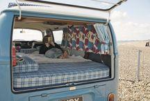 camper vans / trailer pods / rv's