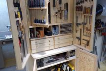 DIY wood work cabinets